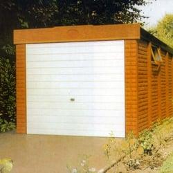 The Leafield Concrete Garage