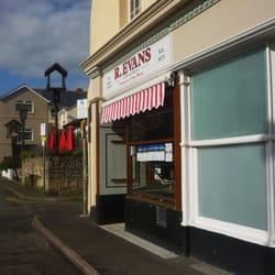 R. Evans Butchers, Llandudno, Conwy