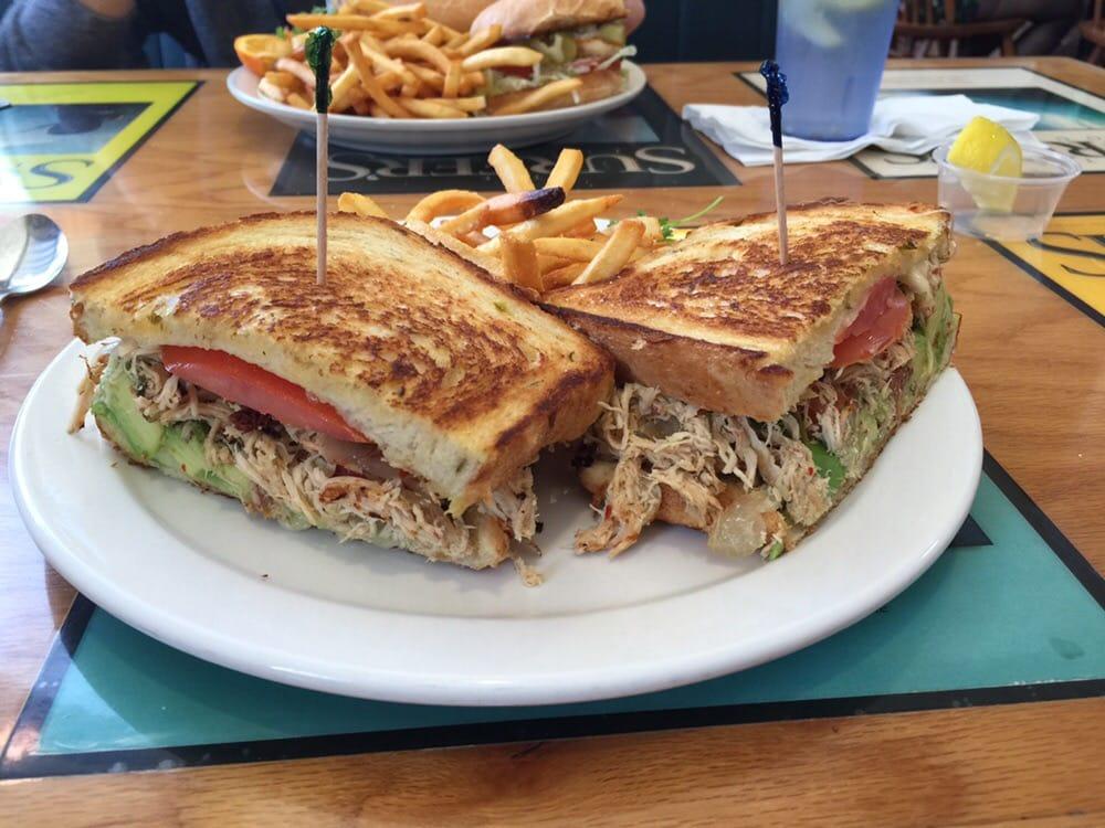 Baja Chicken Baja Chicken Sandwich