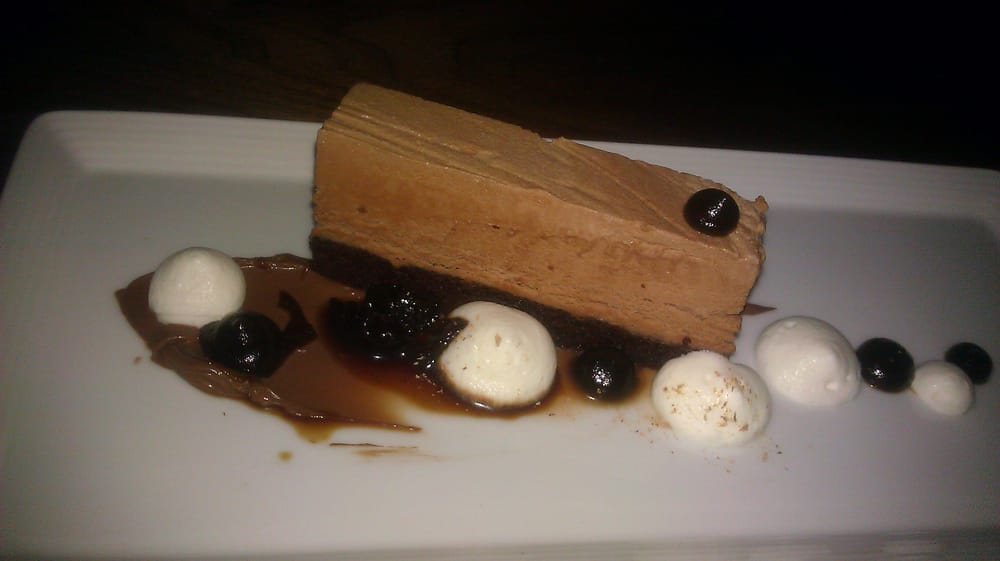 ... States. ESPRESSO SEMIFREDDO: Chocolate Cremeux, Nutmeg Chantilly