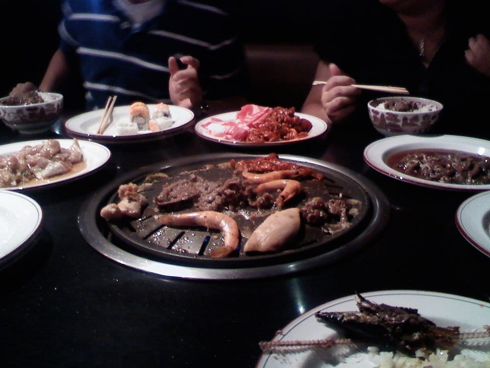 Korean Bbq Table Top Grill Sura Bbq Buffet Table Top