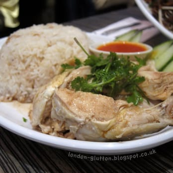 Hainanese Chicken Rice, (£6.50) @ C&R Restaurant, Chinatown