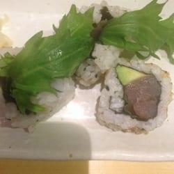 Tuna is brown! Yuck!