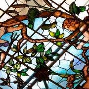 Glasfenster im Hotel Villa Gutenbrunn -…