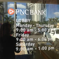 PNC Bank - North Miami Beach, FL, États-Unis. Office Hours