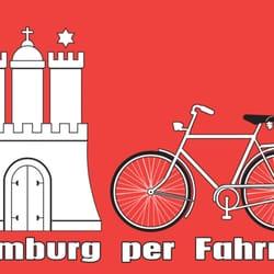 Hamburg per Fahrrad, Hamburg