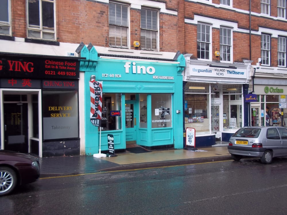 Fino mens hairdressing hair salons birmingham west for Hair salon birmingham