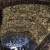 Cathedral interior ceiling