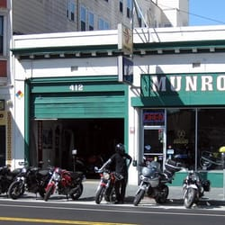 Munroe motors motorcycle dealers mission san for Munroe motors san francisco ca