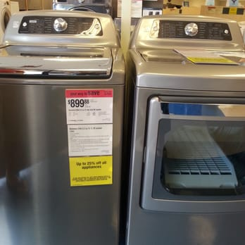 Home Depot Buy A New Washer And Dryer Haul Away