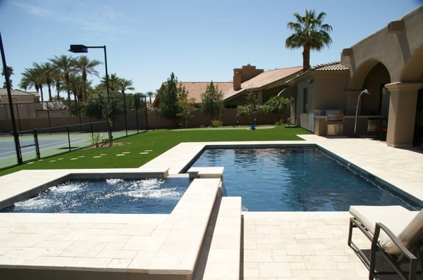 Paradise Valley Swimming Pool And Spa Includes Marbella