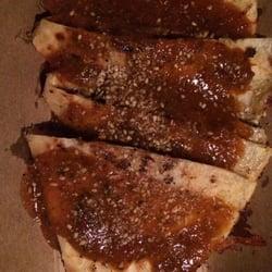 Kogi Truck - Sweet chili chicken quesadilla was really really good! $8 ...