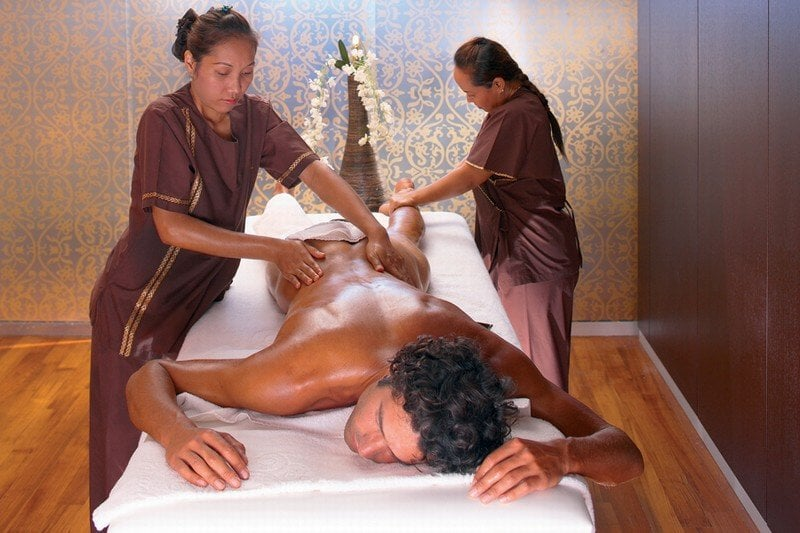 Как сделать массаж мужчине на все тело