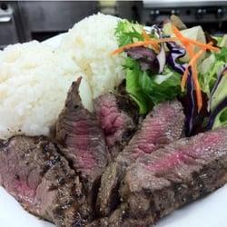 Akoakoa Island Cafe - Pulehu Beef Steak @ $6.95 - Kaneohe, HI, Vereinigte Staaten