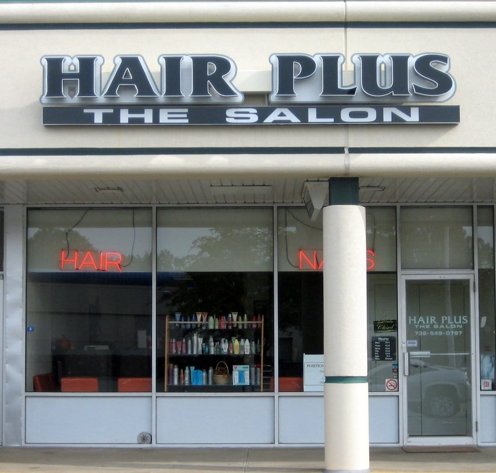 Hair plus the salon hair salons yelp for Aaina beauty salon parlin