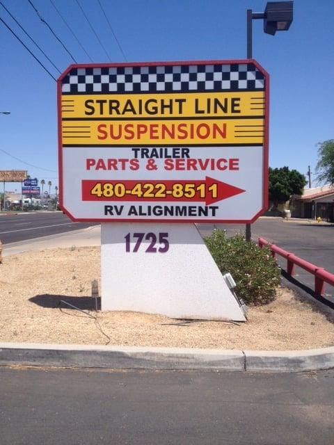 Straight Line Suspension Auto Parts Supplies Mesa