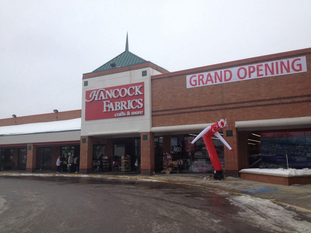 Hancock fabrics fabric stores 9152 metcalf ave for Fabric outlet near me