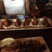 Redstone American Grill - Buffalo Shrimp Appetizer! - Plymouth Meeting, PA, Vereinigte Staaten
