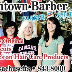 Downtown Barber Shop - Lawrence, KS, États-Unis. Best haircut in town!