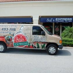 Sal S Express Italian Ristorante Palm Beach Gardens Fl Verenigde Staten Yelp