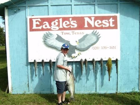 Eagle nest fishing lodge guest houses 16746 ranch rd for Eagle lake texas fishing