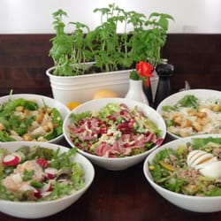 Unsere Haussalate
