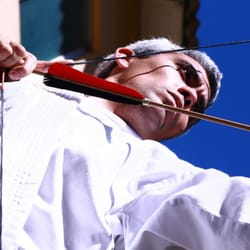 Chinese Archery Practice