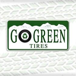 Go Green Tires logo
