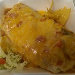 Pepe's Mexican Food - Wet green chile pork burrito! - Chino, CA, Vereinigte Staaten