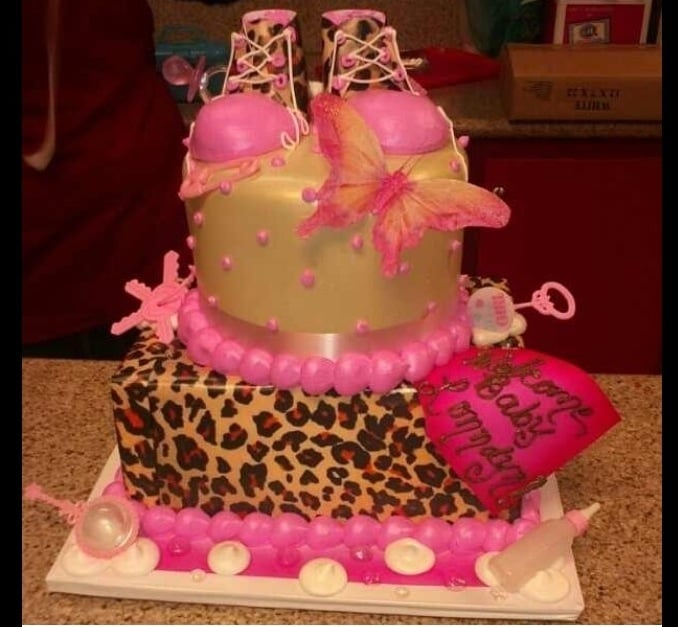 Baby Shower Cakes Los Angeles ~ My baby shower cake it was awesome and they topped