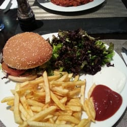 Hatte den Veganen Burger, war eigentlich…