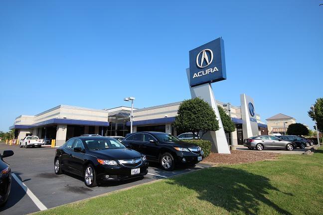 Hall Acura Newport News Newport News Va Yelp
