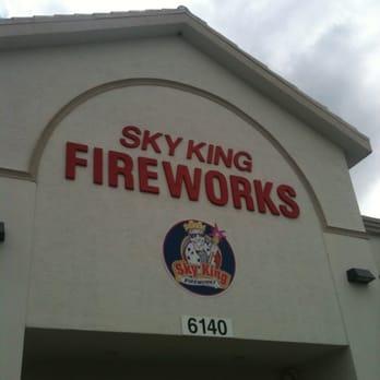 Sky King Fireworks Delray Beach