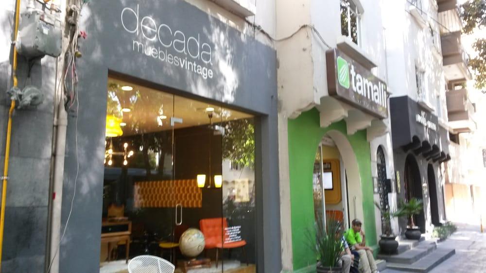 Decada muebles vintage furniture stores polanco for Muebles vintage mexico