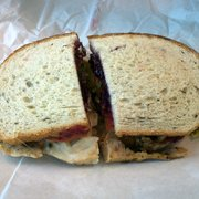 The Sandwich Spot - Good Old George on Rye with the works - Santa Monica, CA, Vereinigte Staaten