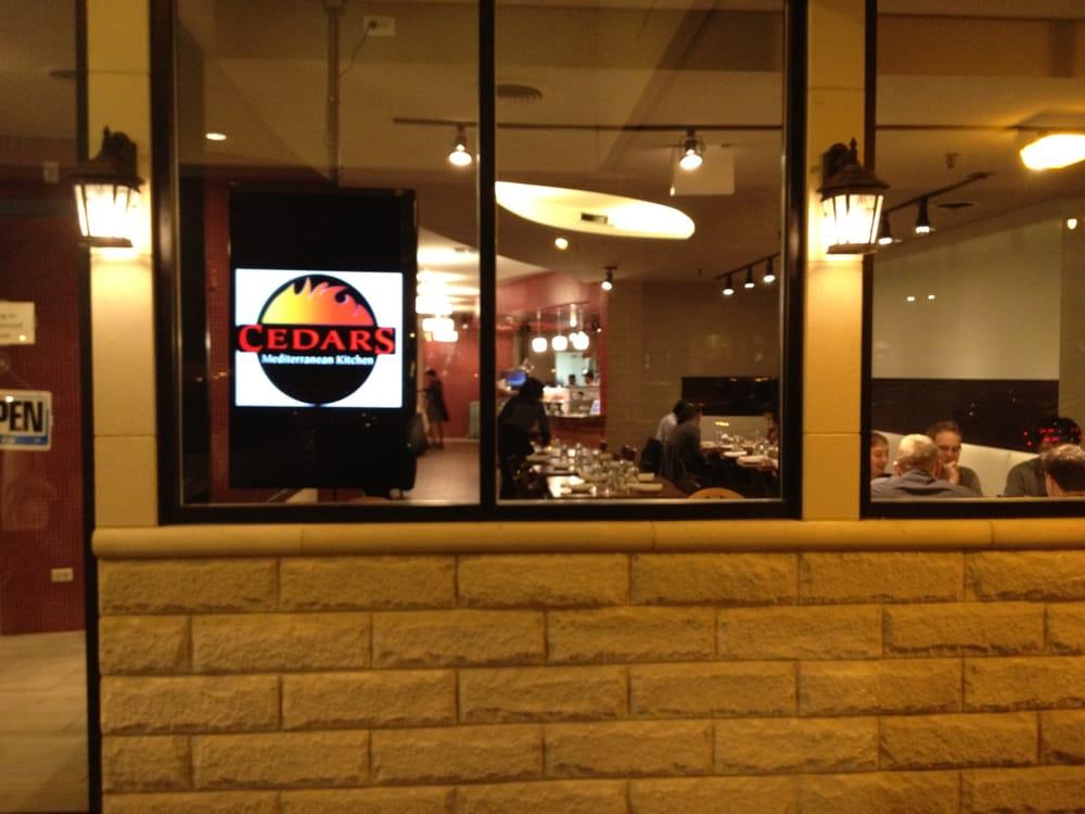Superior Cedars Mediterranean Kitchen Part   5: Cedars Mediterranean Kitchen  Nah 246 Stliches Restaurant Chicago Il
