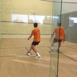CityView Raquet Club - Squash Tourney in play - Long Island City, NY, Vereinigte Staaten