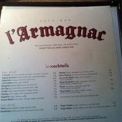 L'Armagnac, Paris