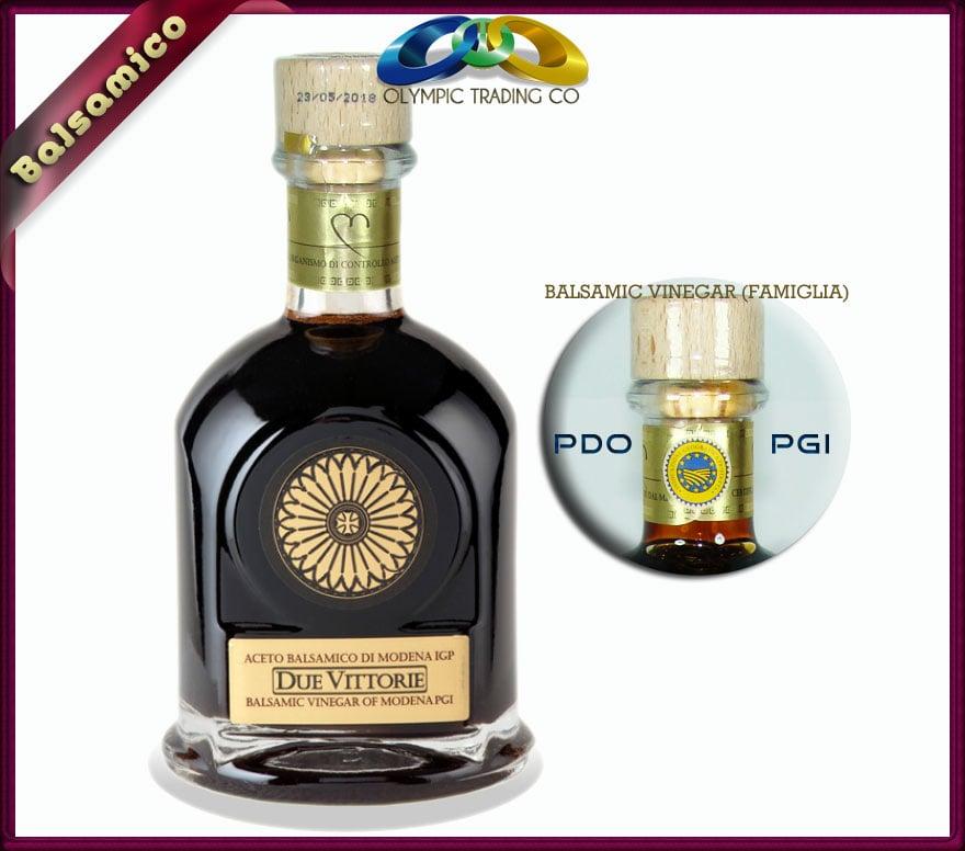 Balsamic Vinegar Family (Famiglia) Due Vittorie of Modena, Italy ...