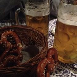 Free basket of pretzels