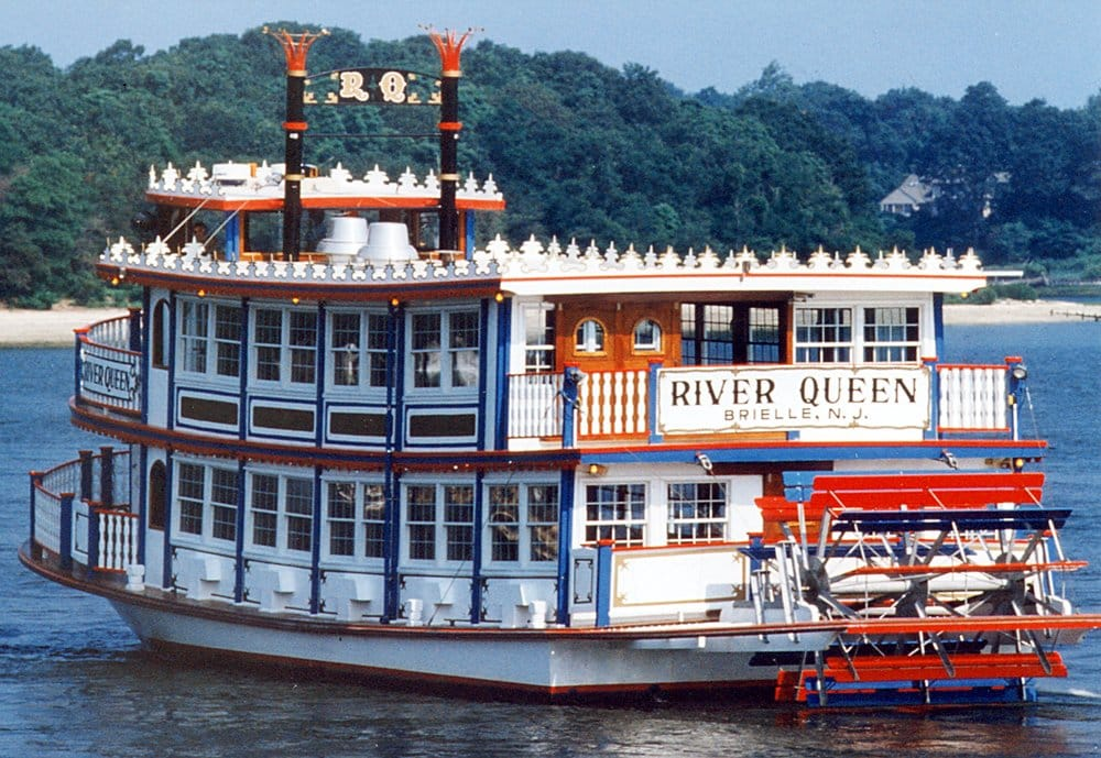 River belle river queen cruise american traditional for Fishing boats point pleasant nj