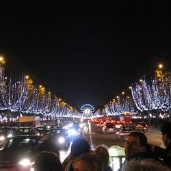 Marché De Noël Des Champs Elysées, Paris, France