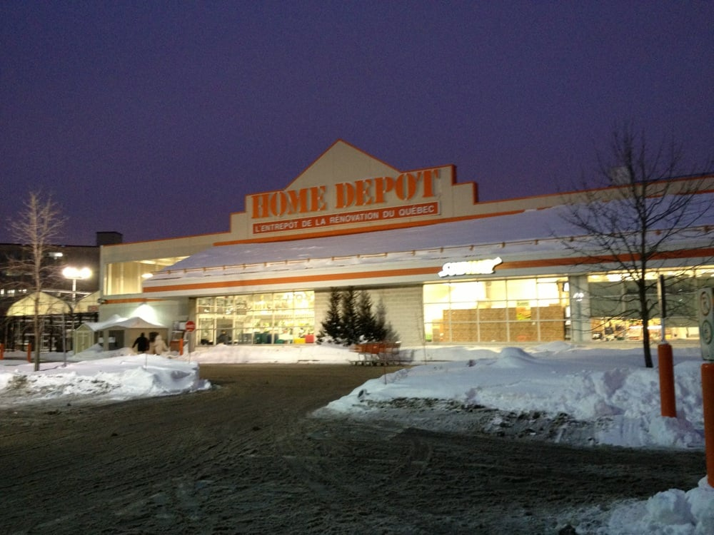 The home depot ferreter as rosemont la petite patrie for Home depot jardineria
