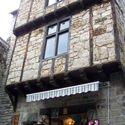 Village de Sainte-Énimie, Ste Enimie, Lozère