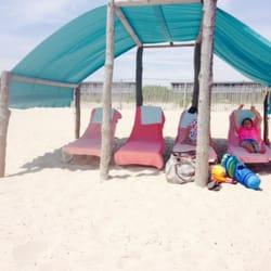 Beach Shack - Cape May, NJ, États-Unis. Cabana on the beach