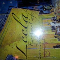 Leela European Cafe logo