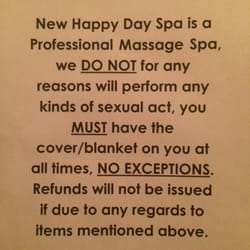 happy happy spa review Bakersfield, California