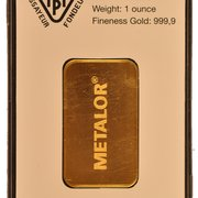 1 ounce gold bar metalor - available at…
