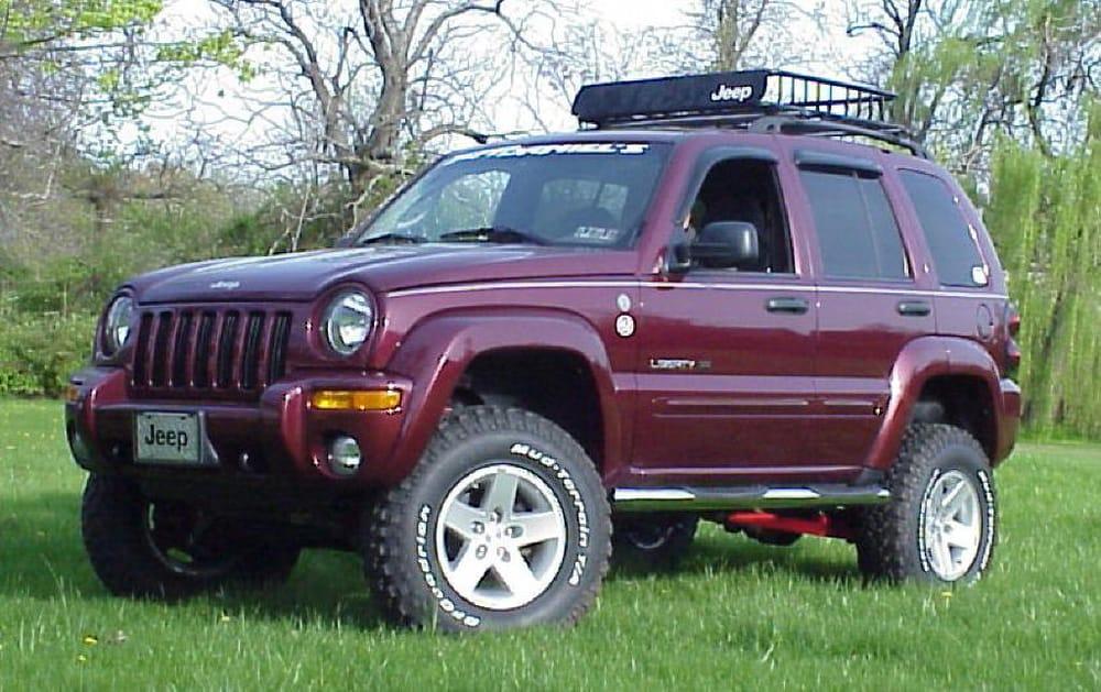 6 Quot Jba Lift Kit On Jeep Liberty Kj Yelp