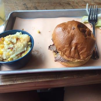 Twin Smokers BBQ - Atlanta, GA, United States. Beef brisket sandwich ...